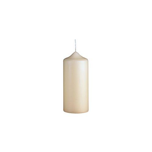 Handgetauchte Kerze | 100/40 mm | Champagner | Brenndauer: ca. 10 Std | Original von Steinhart