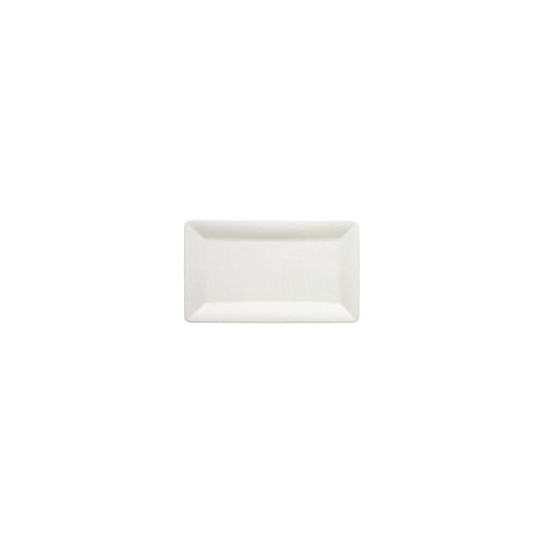 Villeroy & Boch Pi Carré Plat de service, 32x19 cm, Porcelaine Premium, Blanc