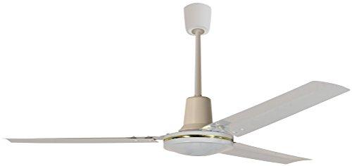 Howell VS1201 Ventilatore a Soffitto con Comando a Muro, 60 Watt, Bianco, 120 cm