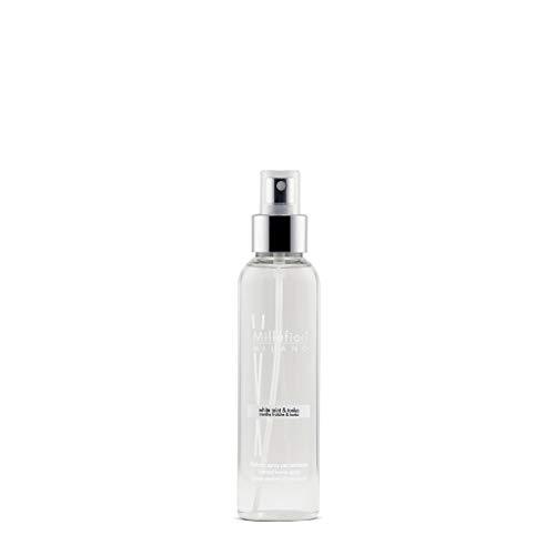 Millefiori White Mint und Tonka Luxuriöse Raumspray Natural 150 ml, Plastik, Weiß, 4.7 x 3.7 x 17 cm