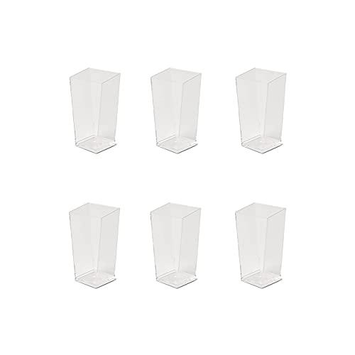 SCHÖNHUBER FRANCHI Set da Nr 30 coppette da Dessert, monouso, in plastica Trasparente Dimensioni mm 41x41 h 82