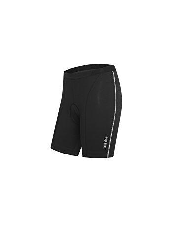 rh+ Zero, Pantaloncini da Ciclismo Donna Mirage, Nero (Black/White), L