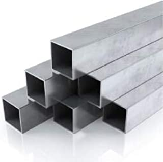 Innovo Aluminium Box Section Square 6082-T6511 3 Metre Length 2.6mm Wall Thickness 50.8mm x 50.8mm