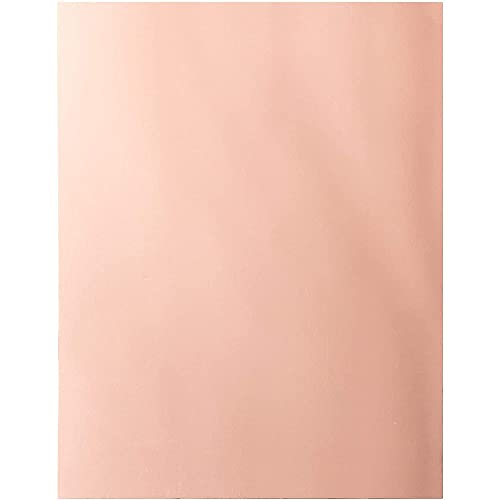 Foil Cardstock - 24-Pack Rose Gold Foil Metallic Mirror Board Sheets for Arts and Crafts, 8.5 x 11 Inches, 350gsm Letter Sized Poster Board, Scrapbook Paper, DIY Card, Invitation Supplies