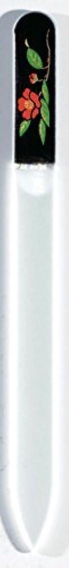 暴動クリップ期待蒔絵 ブラジェク製 爪ヤスリ 十一月 紅葉 紀州漆器