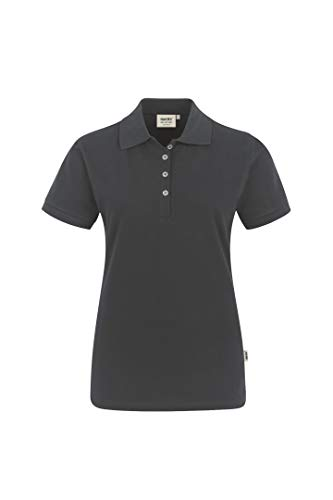 Hakro Women-Poloshirt Stretch, 222, anthrazit, L