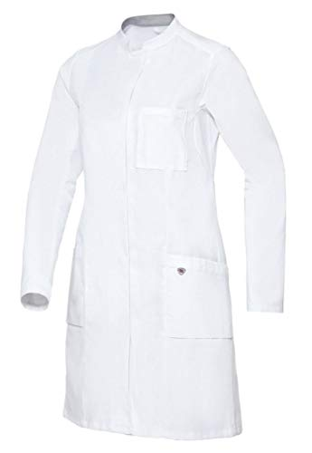 BP 1752-130-0021-46n Arztkittel für Frauen, Langarm, Arm-Lift-System, 205,00 g/m² Reine Baumwolle, weiß ,46n