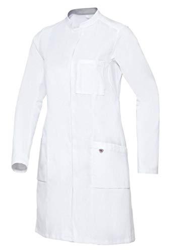 BP 1752-130-0021-34n Arztkittel für Frauen, Langarm, Arm-Lift-System, 205,00 g/m² Reine Baumwolle, weiß ,34n