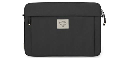 Osprey Unisex's Arcane Laptop Sleeve 13' Everyday Backpack, Stonewash Black, One size