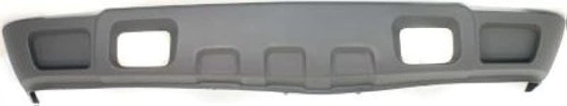 Crash Parts Plus Textured Front Air Dam Deflector Valance Apron for Chevrolet Silverado GM1092205