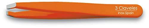 3 Claveles 12280 - Pince à épiler inoxydable, crabe 9 cm