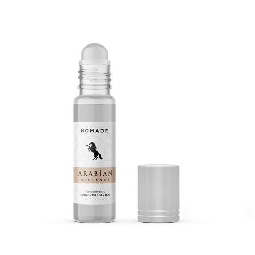 Aceite de perfume unisex FR331 NOMAD. Ámbar/ahumado/oud/cuero/fresco picante/cálido picante/balsámico/animal/almizclado. La fuerte proyección llevará a muchos cumplidos.