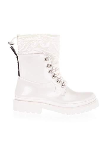 Moncler Luxury Fashion Damen 4G7070002SEM001 Weiss Gummi Stiefeletten | Herbst Winter 20