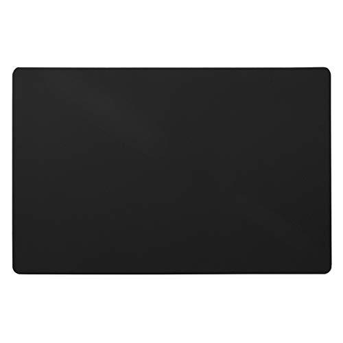 Floordirekt ECO Bodenschutzmatte - 114x150cm - für Hartböden - schwarz