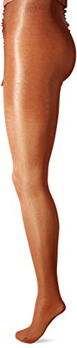 Danskin Women's Compression Footed Tight, Classic light toast, C