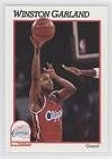 Winston Garland (Basketball Card) 1991-92 NBA Hoops - [Base] #91