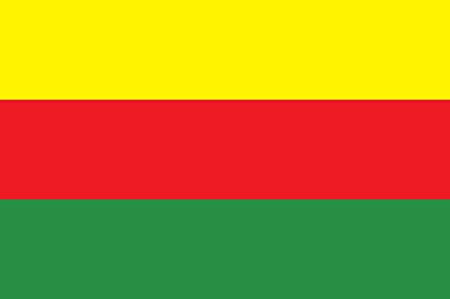magFlags Flagge: Large Rojava2 | Rojava | Querformat Fahne | 1.35m² | 90x150cm » Fahne 100% Made in Germany