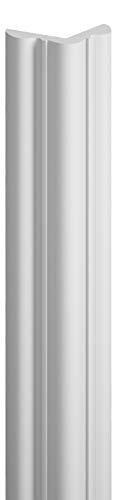 MARDOM DECOR I Wand Eckschutzleiste I MDB123 I Winkelprofil Tapetenschutzkante Eckschutzprofil Kantenschutzprofil I 240 cm x 3,8 cm x 3,8 cm