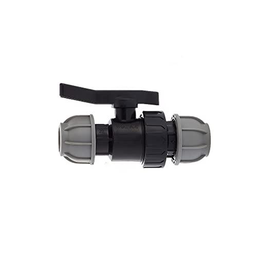 MDPE PE PE PE - Válvula de bola (25 mm)