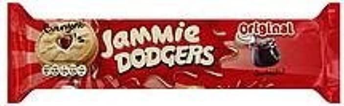 Jammie Dodgers Shortcake Cookies Sandwiched with Raspberry Jam 5.3 oz. (Pack of 30)