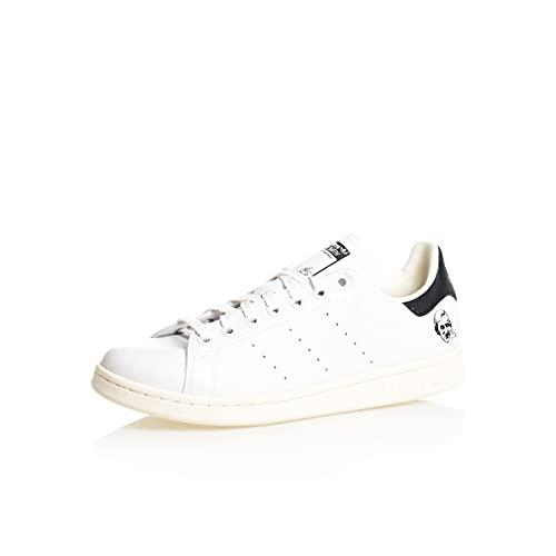adidas Stan Smith, Zapatillas Deportivas Hombre, Off White FTWR White Core Black, 40 2/3 EU