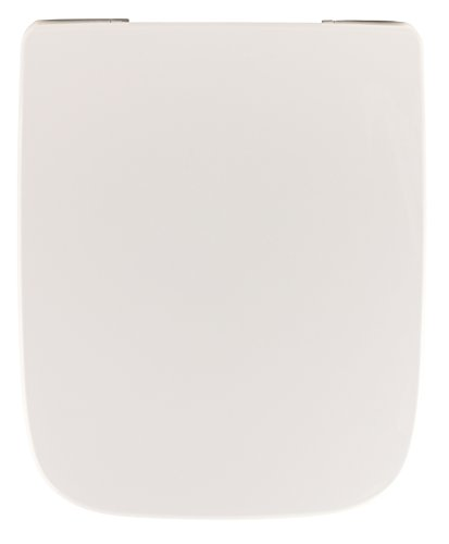 Keramag 03873 7 Renova Nr.1 Plan WC-Sitz 572110 eckige Ausführung mit Soft-Schließ-Komfort, weiß, Nr. 1 572120-mit Absenkautomatik