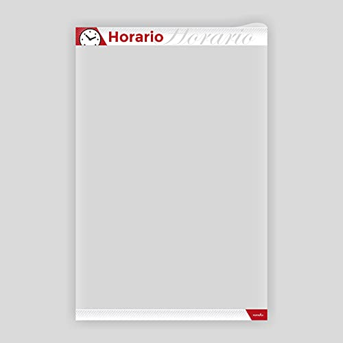 PosterFix A4 Horario - Sistema Portaposter y Portacarteles c