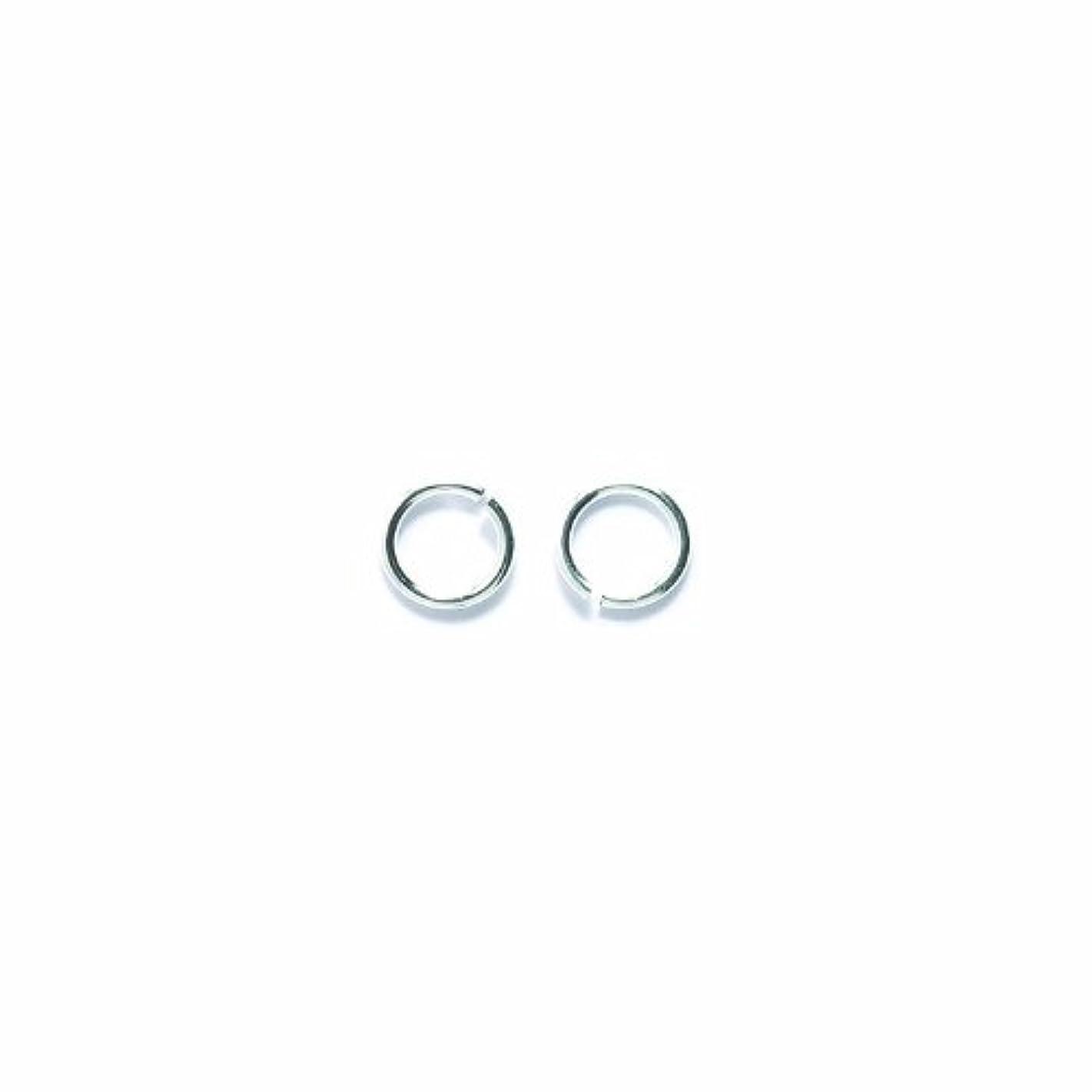 Shipwreck Beads Plated Brass Jump Ring, 8 mm, 19-Gauge, Metallic, Silver, 50 gm Pack