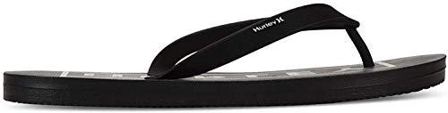 Hurley M One&Only 2.0 Printed Sandal, Chanclas Hombre, Off Noir, 45 EU