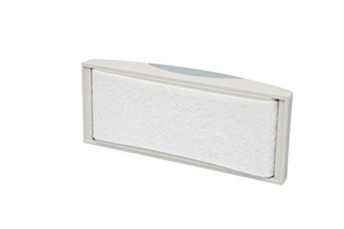 Maul Tafelwischer, mit Vlies-Spanneinrichtung, magnethaftend, Ergonomisch, 11, 4 x 5, 7 cm, grau
