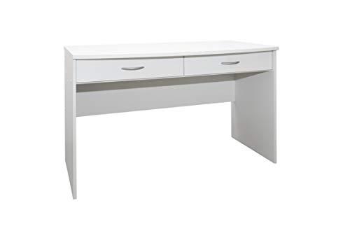 Rauch Möbel Noosa Schreibtisch  in Weiß für Kinderzimmer Jugendzimmer Büro, 64 x 120 x 75 cm