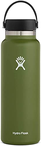 Hydro Flask 40 oz. Water Bottle - Stainless Steel,...