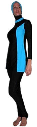HaiDean Nieuwe Moslim Zwemkleding Moslim Zwemkleding Bescheiden islamitische Cover Moderne Casual Bescheiden Volledige Badmode Strandkleding Burkini voor Vrouwen Badpak Mode Strand Badpak
