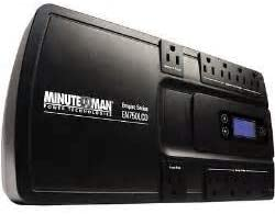 Minute Man EN750LCD Uninterruptible Power Supply