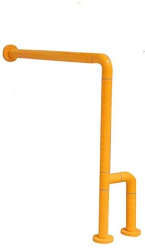 Badezimmer-Handläufe, Edelstahl-Badezimmer-rutschfeste Handläufe mit rutschfesten Partikeln, WC-Sicherheitsunterstützungsgeländer Hilfriffe für Schwangere Frauen mit Behinderungen