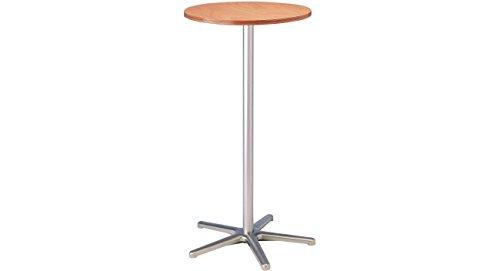 Maul 9323070 Stehtisch Höhe 110 cm, Tischplatte Rund 60 cm, Buche, 1 Stück
