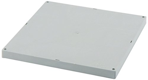 Adequa TAL-4040-G Tapa Ligera, Gris, 40 x 40 cm