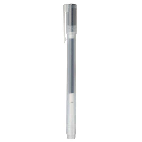 Muji Lot de 5 Stylos à bille à encre gel noire 0.5mm Noir