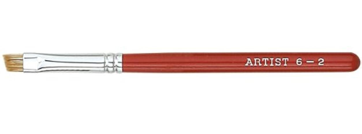 ボウリングゴム菊広島熊野筆 アイブローブラシ 毛質 ウォーターバジャー