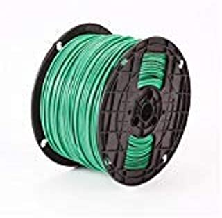 Approved Vendor B03637 Type THHN Building Wire, 10 AWG Stranded Copper Conductor, 500 ft Spool/Reel L, Green