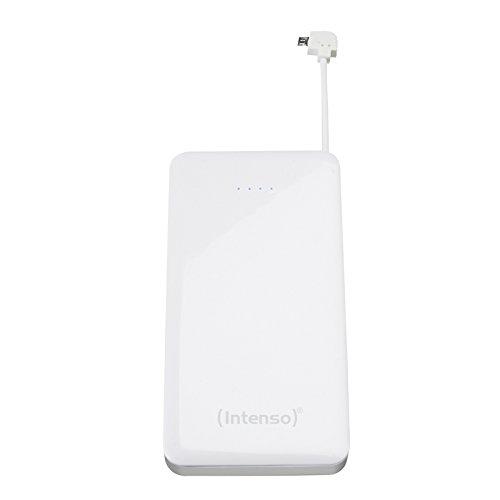Intenso Powerbank S6000 externes Ladegerät (6000mAh, für Smartphone/Tablet-PC/MP3 Player/Digitalkamera) weiß
