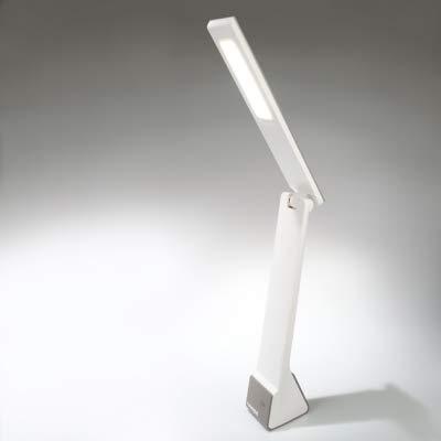 Tiross TS1812 - Lámpara de escritorio LED recargable (15 diodos luminosos, 1200 mAh, 3 niveles de iluminación)