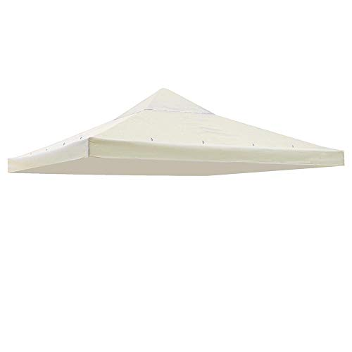 Yescom 117'x117' Canopy Top Replacement Y0049707 White for Smaller 10'x10' Single-Tier Gazebo Cover Patio Garden Outdoor