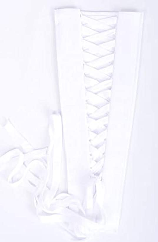 Corset Kit Zipper Replacement for Wedding and Bridal Gown for Easy Alteration Lace-Up to Make Dress Bigger and Fit Better White Chiffon