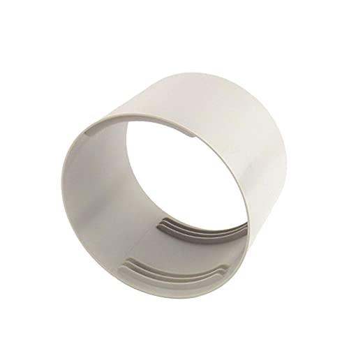 Ranana Mobiler Auspuffanschluss, Gewindeanschluss, Klimaanlage, geeignet für Gewindeschläuche in Zeitrichtung und Anti-Uhrzeit (130/150 mm)