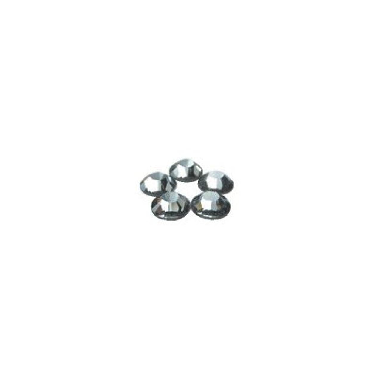 別れるつかの間運賃スワロフスキー?エレメント(SWAROVSKI) ss20 48個入 ブラックダイヤモンド
