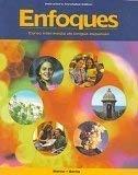Enfoques: Curso intermedio de lengua espanola -Instructors Annotated Edition