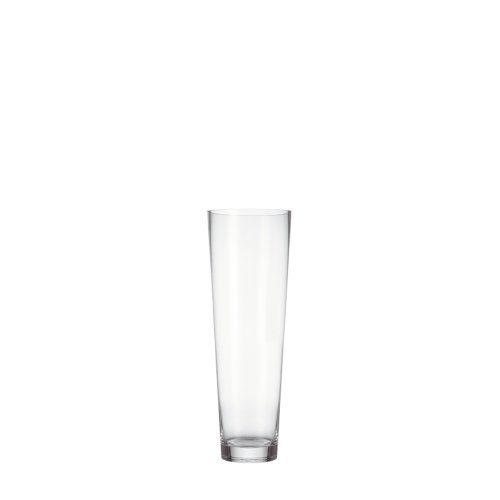 Leonardo Konisch Boden-Vase, handgefertigte Glas-Vase, konisch geformte Blumen-Vase, Deko-Vase aus Glas, mit massivem Eisboden, Höhe: 50 cm, 029556