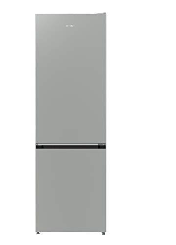 Gorenje NRK612PS4 Kühl-Gefrierkombination, freistehend, Grau, Metallic, 307 l, A++, 307 l, N-T, 5 kg/24h, A++, neue Fächer, Grau, Metallisch)