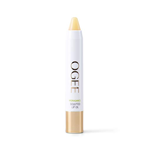 Ogee Sculpted Lip Oil - Made with 100% Organic Coconut Oil, Jojoba Oil, and Vitamin E - Best as Lip Balm or Overnight Lip Treatment